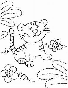 Malvorlage Katze Bunt Ausmalbild Tiere Junge Katze Kostenlos Ausdrucken