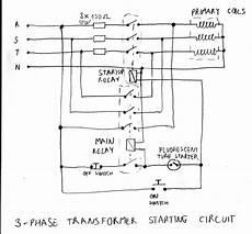 single phase transformer wiring