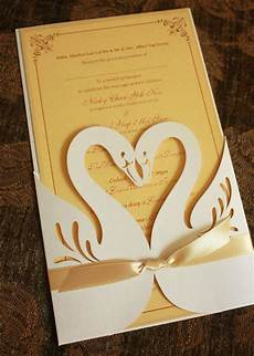 Swan Wedding Invitations