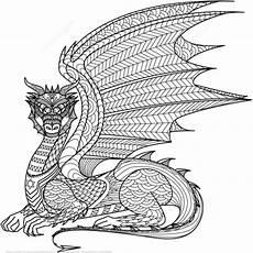 Ausmalbilder Mandalas Drachen Ausmalbild Zentangel Drachen Kategorien Zentangle
