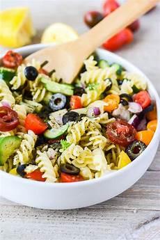 vegan italian pasta salad healthier steps
