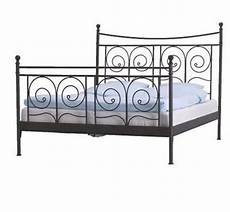 Ikea Noresund Black Metal Bed Frame Size In Hyde