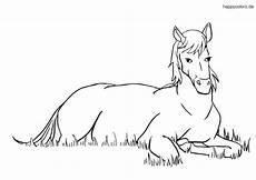 Malvorlage Pferd Einfach Fohlen Ausmalbilder Tiere Pferde Malvorlagen