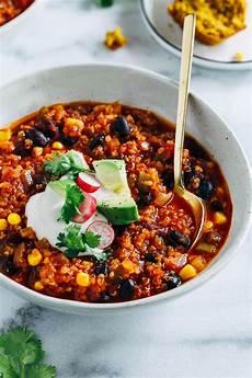 Best Quinoa Chili Vegan And Gluten Free