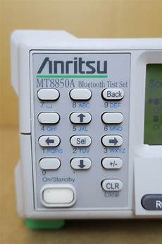 test mobile anritsu mt8850a mobile phone 2 40ghz bluetooth wireless