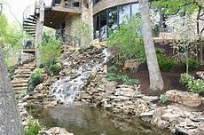 water feature design installation in kansas city rosehill gardens