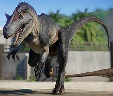 allosaurus jurassic world evolution wiki fandom