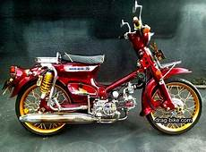 Modifikasi Motor Grand Klasik by 40 Foto Gambar Modifikasi Honda C70 Kontes Airbrush