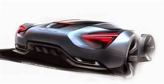 Porsche By ACCD Student David Schneider  Inspiration