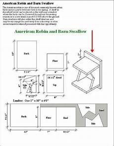 finch house plans oooo a free robin birdhouse design page with images