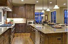 Kitchen Cabinet Color Wood Floor by Pictures Of Kitchens Traditional Wood Walnut