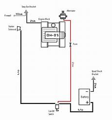 battery disconnect switch wiring diagram battery disconnect switch wiring mustang at stangnet