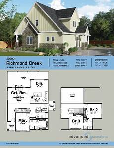 one story craftsman house plans 1 5 story craftsman house plan richmond creek