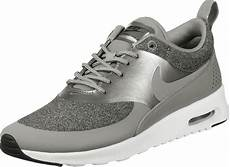 nike air max thea knit w shoes grey silver