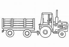 traktor mit anh 228 nger ausmalbild ausmalbilder traktor
