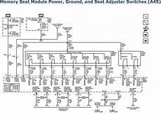 2006 memory seat module wiring diagram repair guides power seats 2007 driver seat schematics autozone