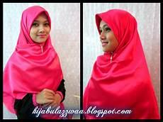 Hijabul Azzwaa Boutique Tudung Labuh 4 Segi Satin