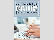 work from home jobs legitimate
