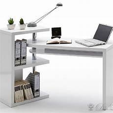 Schreibtisch Weiss Hochglanz Lackiert Mit Regal Aequivalere