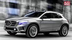 Mercedes Concept Gla Seriennaher Suv Ausblick