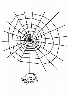 Malvorlagen Spinnennetz Malvorlage Spinnennetz Mit Spinne Kostenlose