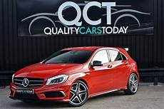 used mercedes a class a class a45 amg 2 0 5dr