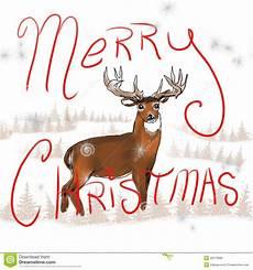 whitetail buck christmas royalty free stock image image 35279996