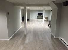 jose g upgraded his basement with kronoswiss ecru laminate flooring using express flooring