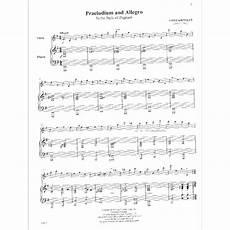 kreisler fritz praeludium and allegro violin and piano carl fischer edition shar music