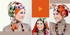 Hijabers Tutorial Sakinah Gaya Jilbab Pashmina Tie Dye Etnik