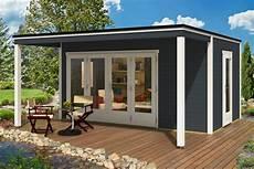 Design Gartenhaus Cubus Avant 44 Iso