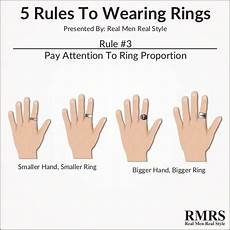 5 rules to wearing rings