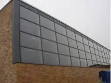 Haustür Aus Glas - viel glas oberlicht an einer turnhalle bauunternehmen