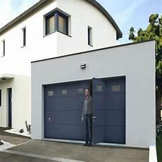 Porte De Garage Sectionnelle Novoferm Iso 45 Prix Maison