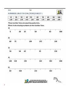 place value number line worksheets 5184 place value worksheets 2nd grade