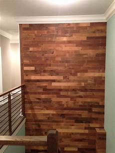 Wood Timber 12inch Square Vintage Wall by Diy Reclaimed Wood Accent Wall Brown Waxed And Sealed 5 5