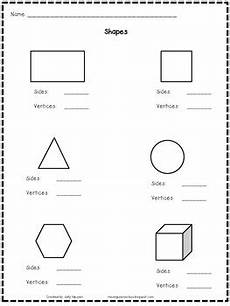 shapes sides and vertices by sally nguyen teachers pay teachers