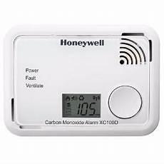 detecteur monoxyde de carbone honeywell d 233 tecteur monoxyde de carbone affichage lcd honeywell xc100d
