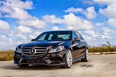 mercedes w212 e250 on velgen wheels benztuning