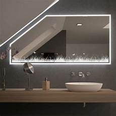 spiegel f 252 r dachschr 228 mit led beleuchtung midou 989707005