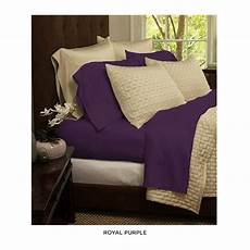 6 piece super soft 1600 series double brushed sheets assorted colors bamboo sheets