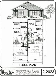 two storey duplex house plans building designs by stockton plan 2 2023 two storey