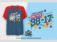 Desain Kaos & Sablon Untuk Kaos Reuni Akbar Sekolah