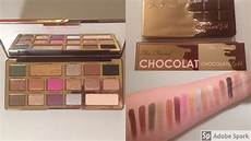 Faced Chocolate Gold Bar faced gold chocolate bar swatches and thoughts