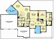 house plans with walkout finished basement stone and brick 6 bed luxury house plan with finished