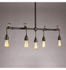 le suspension industrielle luminaire tuyau style industriel 5 lumi 232 res neptune