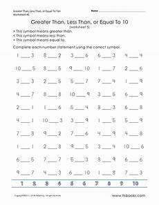 new 6 first grade math worksheets greater than less than firstgrade worksheet