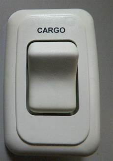 new cargo wall switch w base eggshell off rv motorhome boat cer 12v ebay