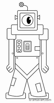 Ausmalbilder Coole Roboter Cooler Roboter Ausmalbild 187 Gratis Ausdrucken Ausmalen