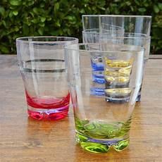 bicchieri acqua colorati set bicchieri acqua colorati marine business serie 6